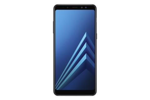 Samsung presenterar nya Galaxy A8 (2018) med dubbla främre kameror och stor Infinity-skärm