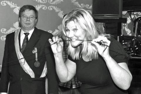 Elisabeth Johansson inviger den första festivalen 2009