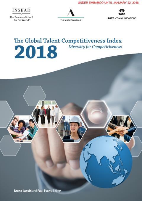 Global Talent Competitiveness Index 2018 -tutkimus