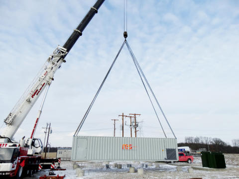 Battery Utility of Ohio energy storage project