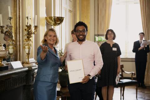 Global Swede Award till Ahmed Mohamed