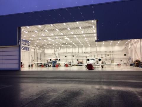 Rotpartner hyresgästanpassar en hangar!
