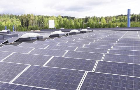 Kiilto lisää aurinkoenergian käyttöä – uusi aurinkovoimala Hankasalmelle