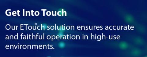 Looking for innovated and reliable touch screen supplier? ET&T    Technology is your best choice!