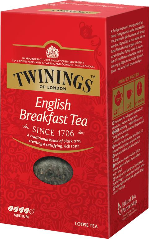 Twinings English Breakfast 200g löste