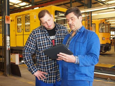 TH-Forschung aktuell: Komplexe Bildverarbeitung unterstützt logistische und Arbeitsprozesse in altersgemischten Technik-Teams von U-Bahn-Werkstätten