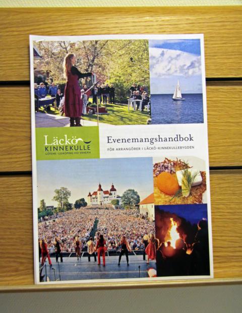 Nyhet! Handbok för evenemangsarrangörer Pressmöte 23/10 kl 10.00