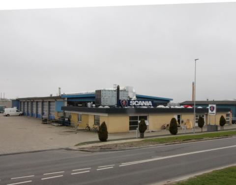 Undskyld vi roder: Scania i Herning moderniseres og miljøsikres