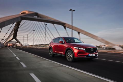 Nya Mazdas CX-5 uppnår 5 stjärnor i Euro NCAP test