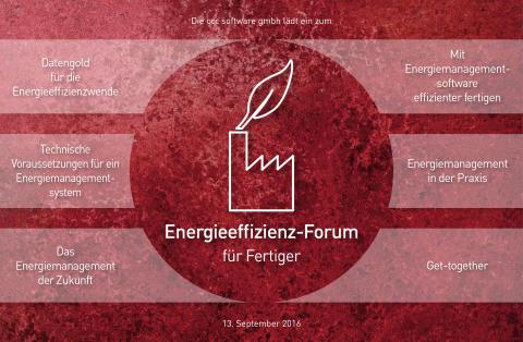 """2. Energieeffizienz-Forum """"Energiemanagement heute und morgen"""""""