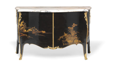 John Cobb's Exotic Lacquer Furniture