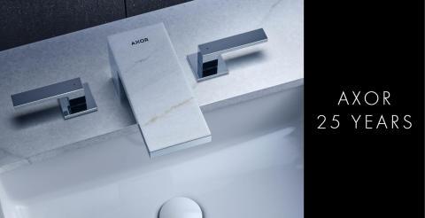 AXOR – jo 25 vuotta tyylikkäitä designhanoja ja -suihkuja