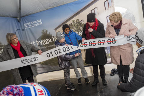 Familjebostäder bygger det första Stockholmshuset
