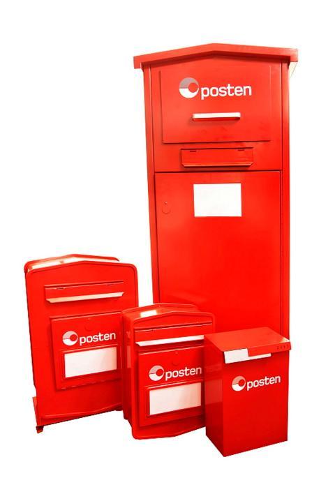 Nye innleveringspostkasser