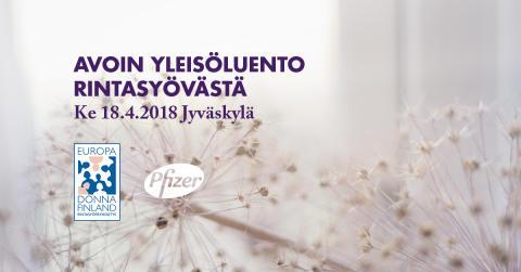 Avoin yleisöluentotilaisuus Jyväskylän pääkirjastossa keskiviikkona 18.4.2018 klo 17 - 19.30