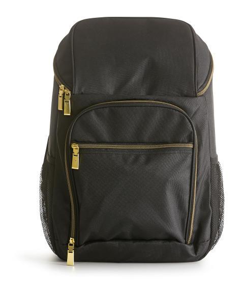 City kylväska ryggsäck 21 L, svart