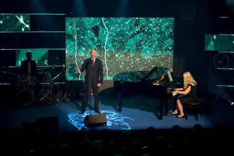 """Großer Auftritt für Achim Hänig (48) beim dritten """"Beats of Cochlea"""" in Warschau"""