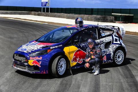 Joni Wiman ja Global Rallycross