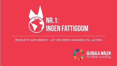 A Sustainable Start - Nr1: Ingen Fattigdom