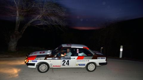 Team Audi 80 (foto Michael Eisenberg)