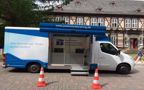 Beratungsmobil der Unabhängigen Patientenberatung kommt am 9. Juni nach Goslar.