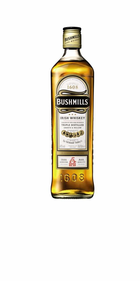 BUSHMILLS® ORIGINAL, 70 cl 40,0 Vol %