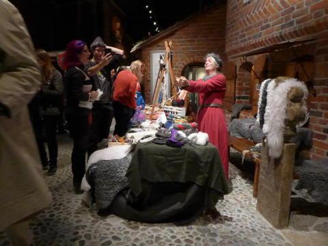 Höstmarknad på Medeltidsmuseet 2017