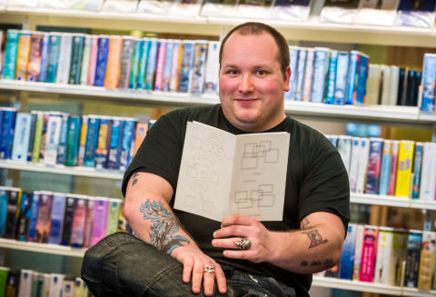 """Libraries have been a 'home from home',"" says autistic poet"
