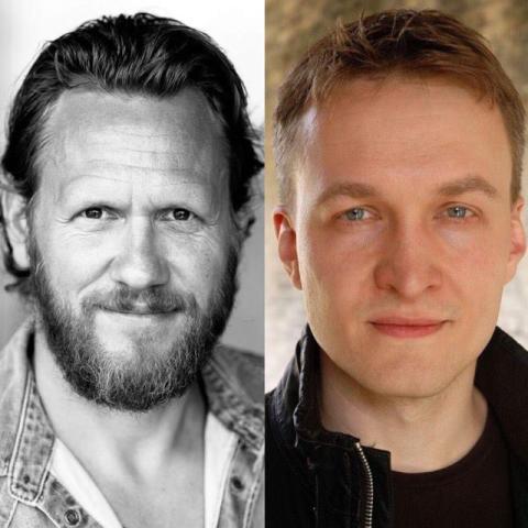 Jakob Fahlstedt och Kola Krauze klara för varsin roll i TV-serien Bron säsong 4