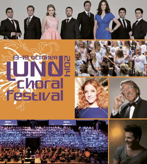 Lund Choral Festival 2014 • 24 maj släpper vi programmet