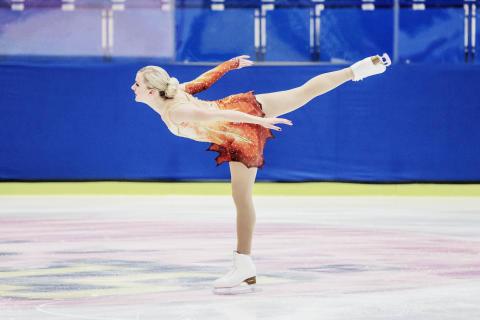 Isabelle Olsson, SM 2013, korta programmet