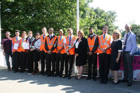 Great Northern gives nine unemployed youngsters a job