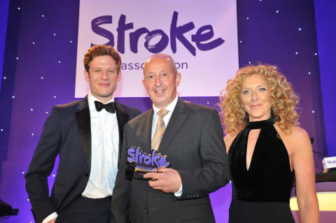 ​East Midlands stroke survivor scoops national award