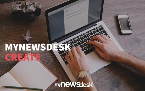 Keine Zeit für Content? - Jetzt startet Mynewsdesk Create!