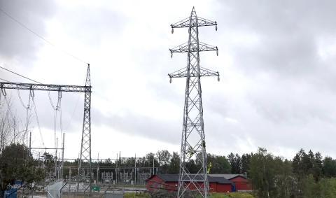 Linjebygging mellom Hasle og Råde i Østfold