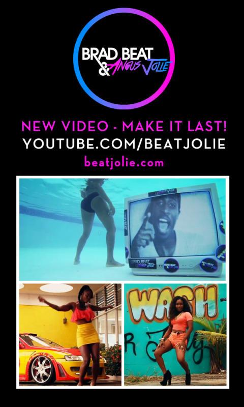 "Brad Beat & Angus Jolies debutsingle ""Make It Last"" får video"