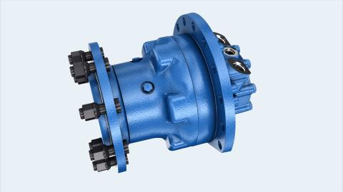 Bosch Rexroth lanserar en robust radialkolvmotor MCR5-W