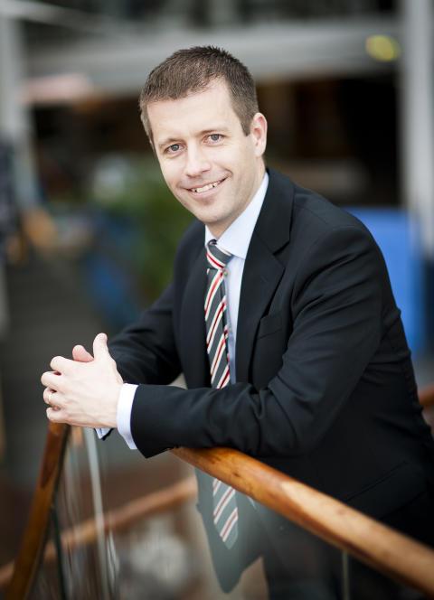 Dieter Sand, VD Arlandastad Holdning