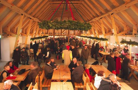 Julmarknad i Slottslängorna, Sölvesborg