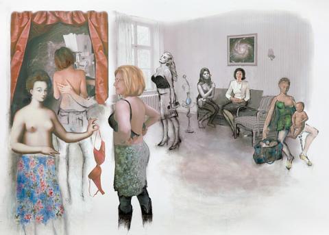 Bröstkollen auktionerar ut Lee Gotvik och Annen Jakobsson – och 14 konstverk