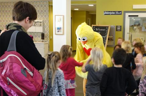 Gula Pippin är populär bland barnen på Boken
