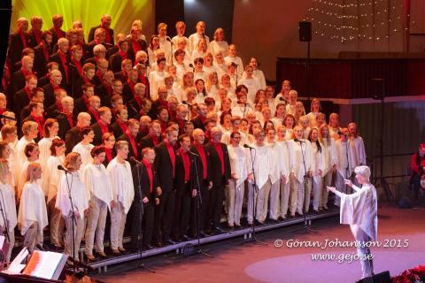 Stjärnjul 2015 Rönninge Show Chorus _ The Entertainmen_ Copyright Göran Johansson
