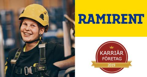 Ramirent - Årets Karriärföretag 2019