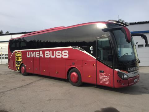 Umeå IK erbjuder supporterbuss till hemmapremiären