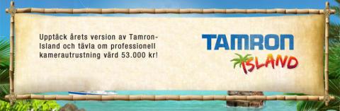 Tamron Island Startbanner