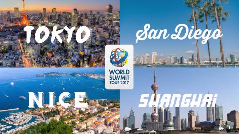 DENTSPLY Implants World Summit Tour 2017 —because inspiration and confidence matters