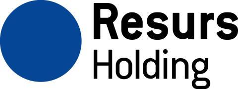 Resurs Holding publicerar idag kvartalsrapport för det första kvartalet 2016