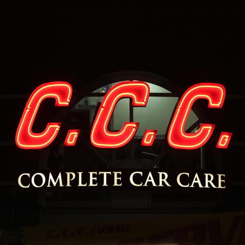 Neonskylt C.C.C.