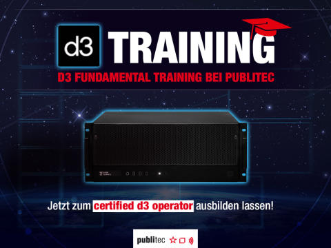 d3 Fundamental-Training bei publitec
