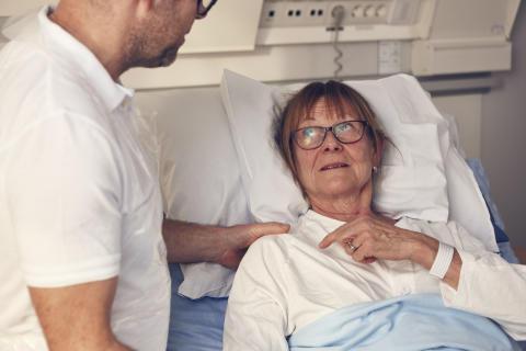 Ökad patientmedverkan kan minska trycksår.